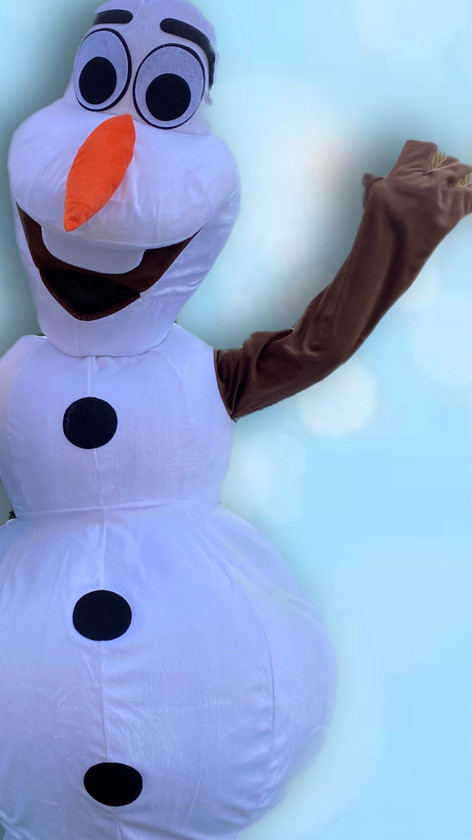 Olaf Party Frozen Central Coast (Mascot)