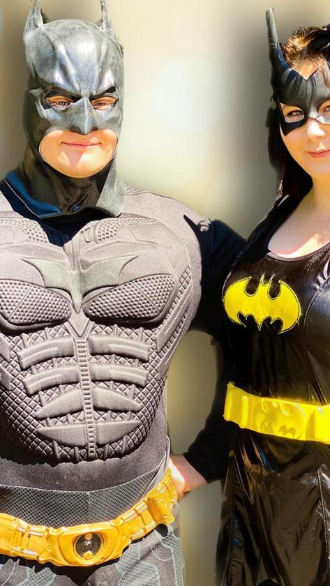 Batman & Bat Girl Central Coast