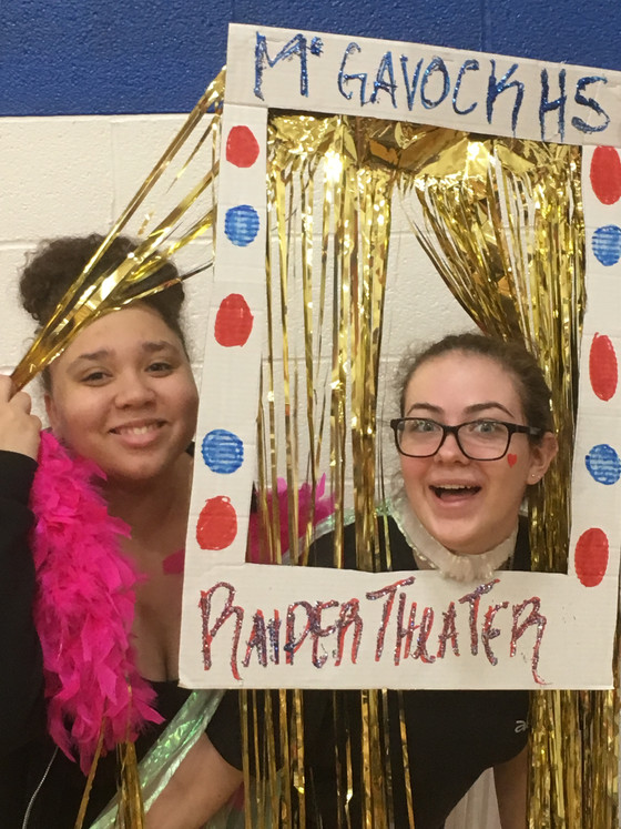 Theater Department performs for 8th grade tours