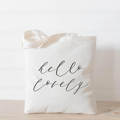Wholesale Canvas Tote - Lovely