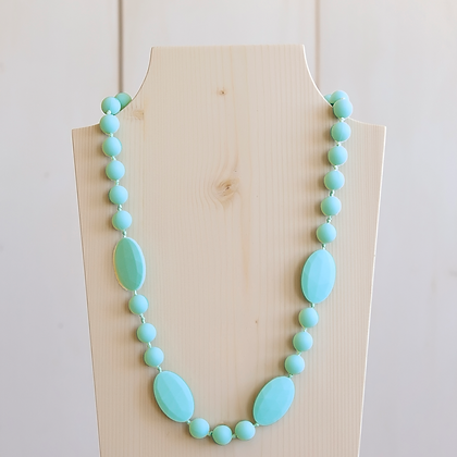 Wholesale Teething Necklace - Mint