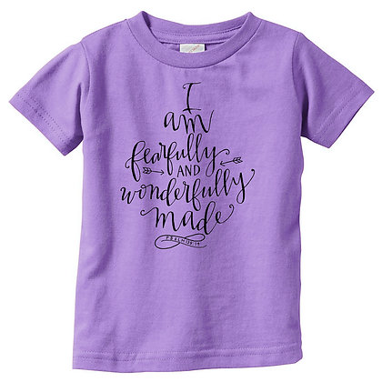 Fearfully Made | Kids Lavender Tshirt