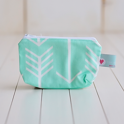 Small Zipper Pouch - Mary