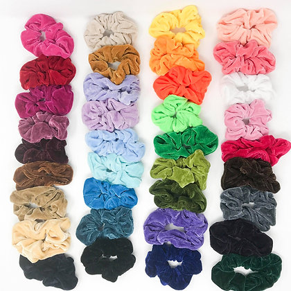 Wholesale Velvet Hair Scrunchies