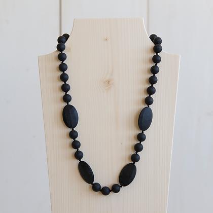 Black | Teething Necklace