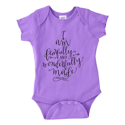 Fearfully Made | Kids Lavender Bodysuit