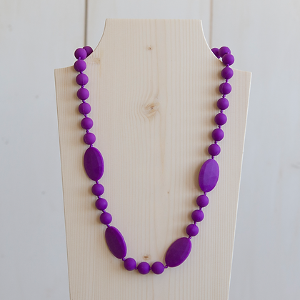 Wholesale Teething Necklace - Purple