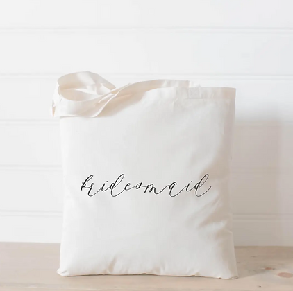 Wholesale Canvas Tote - Bridesmaid