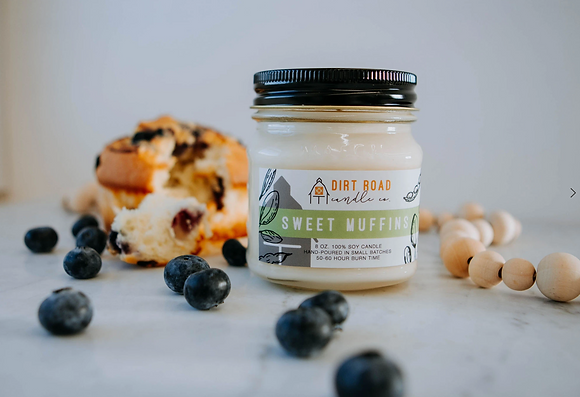 8oz. Sweet Muffin Candle