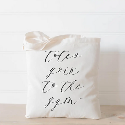 Wholesale Canvas Tote - Gym