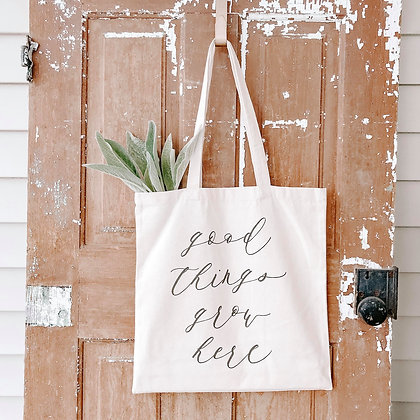 Good Things | Canvas Tote