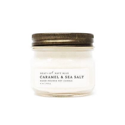 4 oz. Carmel & Sea Salt