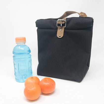 Black   Lunch Tote