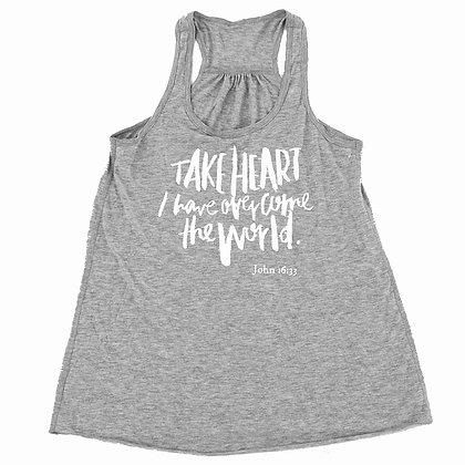 Take Heart | Adult Gray Tank