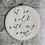 Thumbnail: It is Well | Embroidery Hoop