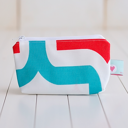 Small Zipper Pouch - Katie