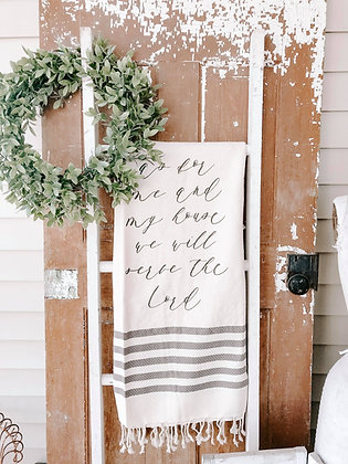 We Will Serve the Lord | Blanket