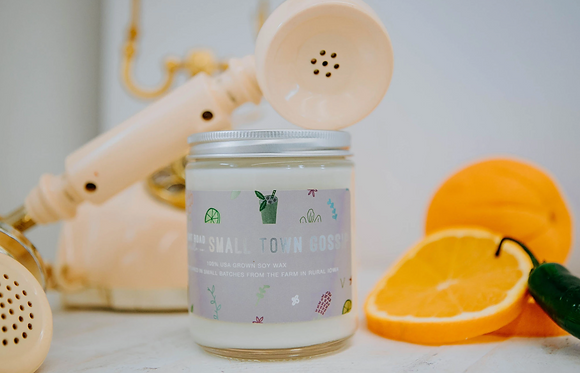 8 oz. Small Town Gossip Candle