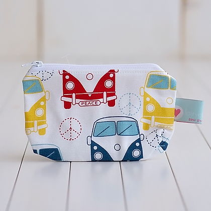 Wholesale Small Zipper Pouch - VW Bus