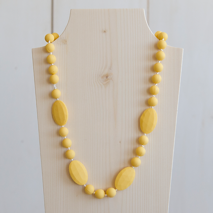 Wholesale Teething Necklace - Yellow