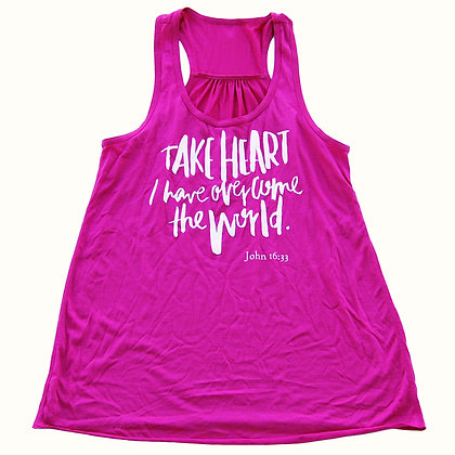Take Heart | Adult Berry Tank