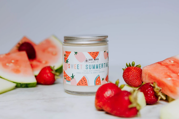 8 oz. Sweet Summertime Candle