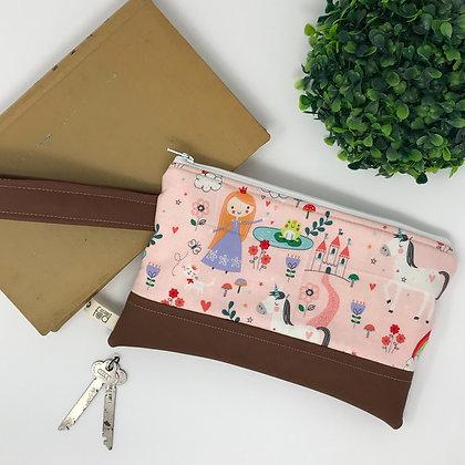 Dreamy Princess | Mini Wristlet
