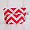 Thumbnail: Wholesale Small Zipper Pouch - Katie Chevron