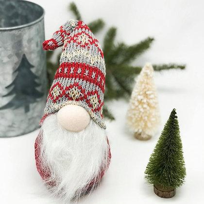 Red, Cream & Grey   Gnome