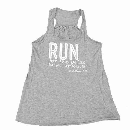 Run | Adult Gray Tank