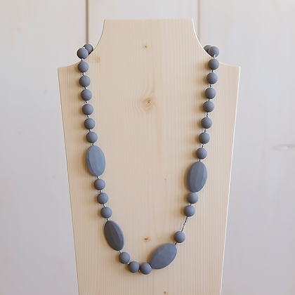Wholesale Teething Necklace - Gray