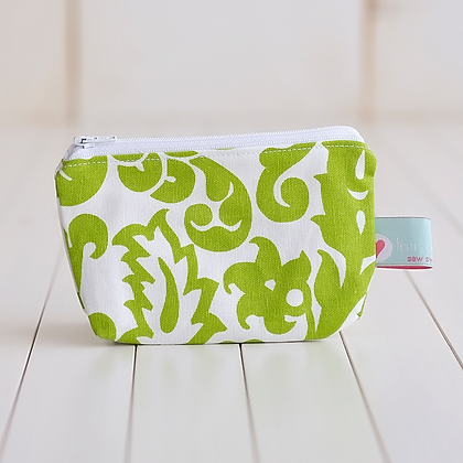 Small Zipper Pouch - Elizabeth