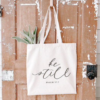 Be Still | Canvas Tote
