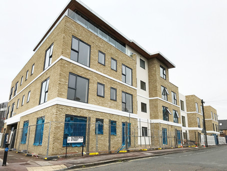 Residential blocks in Greenwich