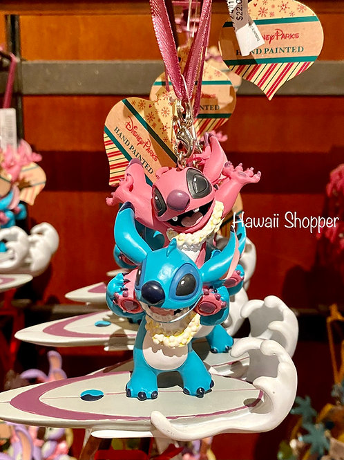 Aulani Angel and Stitch Ornament 2021