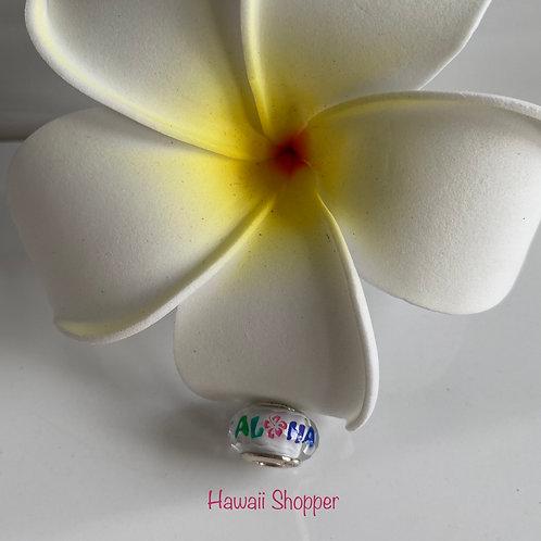 Pandora Hawaii Exclusive-Aloha Murano Charm