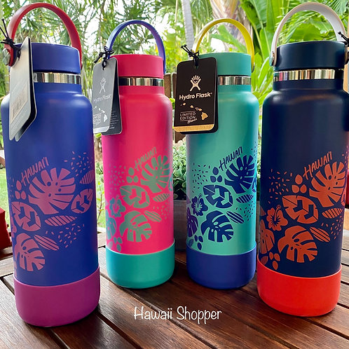 Limited Edition Hawaiian Hydro Flask 40 oz Bottles