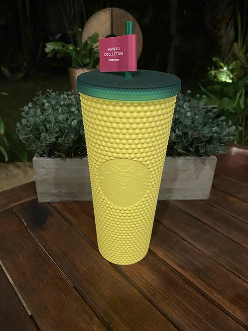 Starbucks Hawaii Studded Pineapple Tumbler