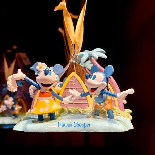 Aulani Mickey and Minnie Ornament 2021