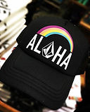 Aloha Trucker cap, Aloha Trucker hat, girls trucker hat, women's trucker hat from Hawaii