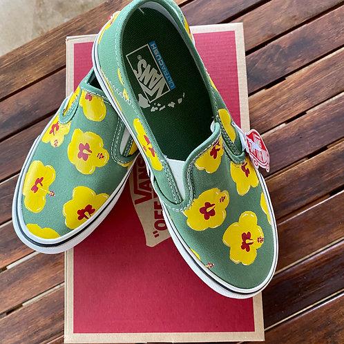 Vans Flower Slip-On Sf Shoe