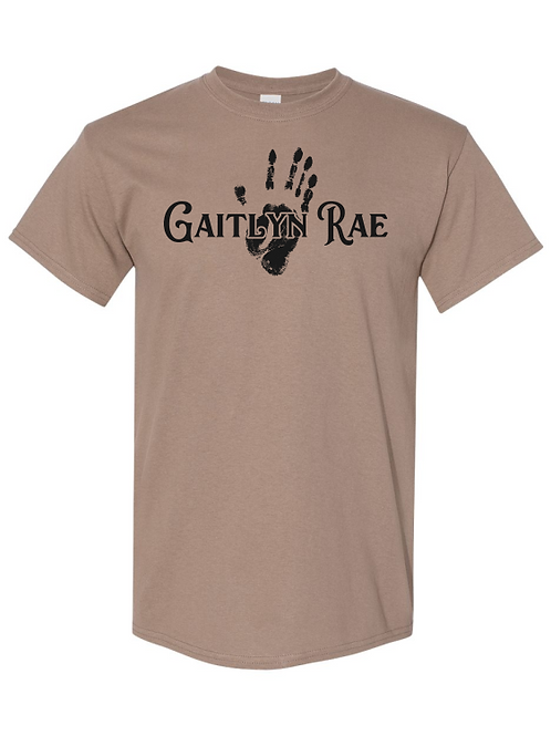 Gaitlyn Rae's Hand Print - Short Sleeve Tee