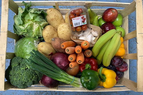 The mixed fruit and veg box!