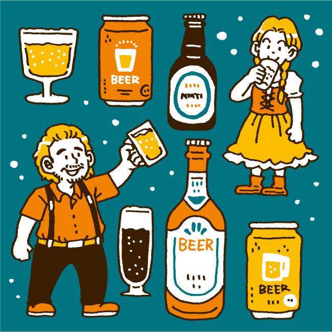 色々なビール