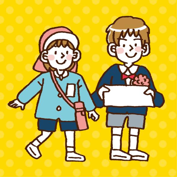 周南小さき花幼稚園さまイラスト