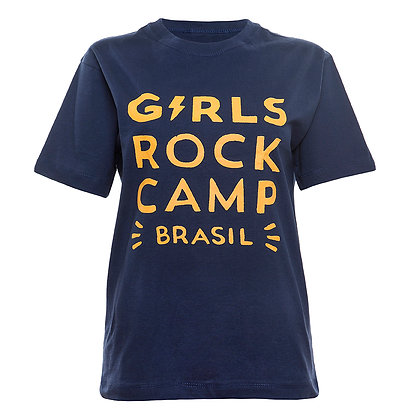 Camiseta Logo Oficial GRCBR Azul Marinho
