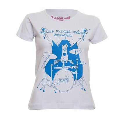 Camiseta GRCBR 2019 Babylook Branca