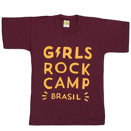 Camiseta Logo Oficial GRCBR Vinho