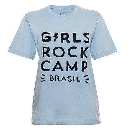 Camiseta Logo Oficial GRCBR Azul Claro