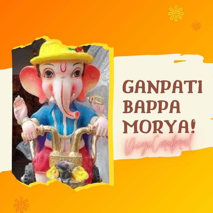 Ganpati Bappa Morya